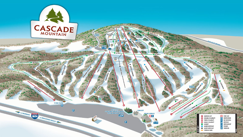 Cascade Ski Christmas 2020 Cascade Mountain