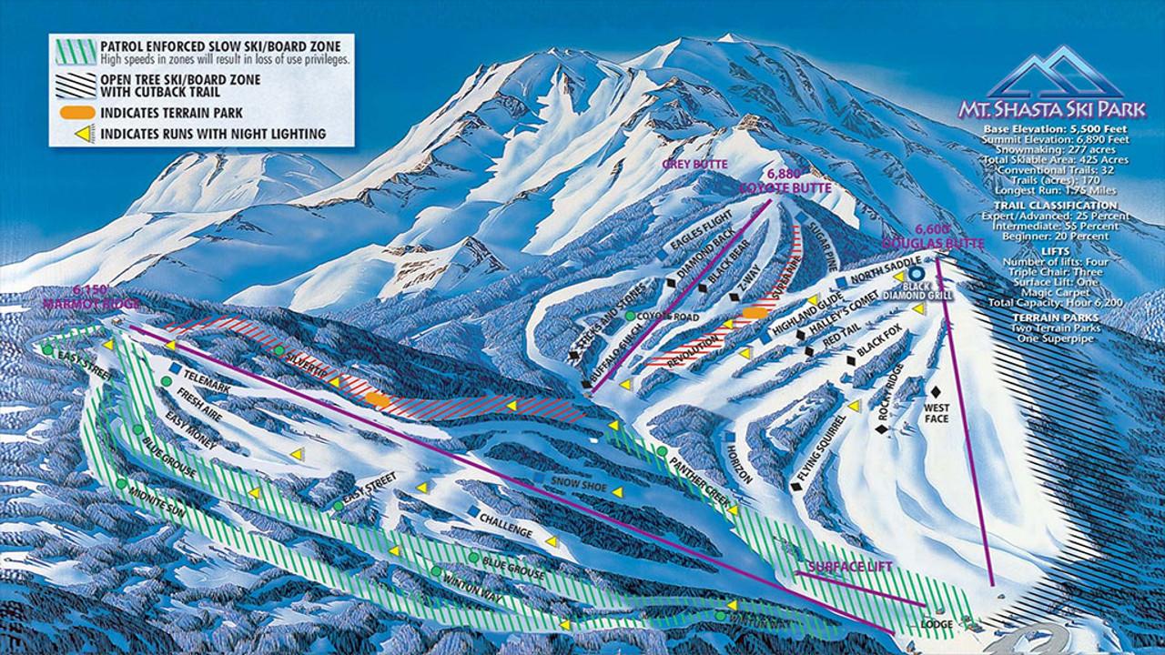 conditions & webcams – mt. shasta ski park
